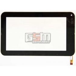 Тачскрин (сенсорный экран, сенсор ) для китайского планшета 7, 12 pin, с маркировкой TOPSUN_C0003_A1, DR-F-07026-V4, для Wexler TAB 7008, Eken Eken W70, размер 188x112 мм, черный