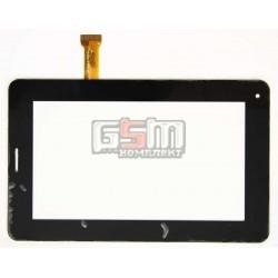 Тачскрин (сенсорный экран, сенсор ) для китайского планшета 7, 30 pin, с маркировкой YL-CG013-FPC-A2, для Gtab, размер 189*117 мм, черный