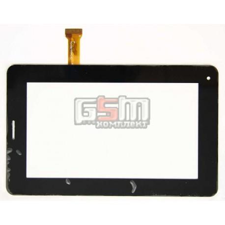 """Тачскрин (сенсорный экран, сенсор ) для китайского планшета 7"""", 30 pin, с маркировкой YL-CG013-FPC-A2, для Gtab, размер 189*117"""