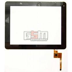Тачскрин (сенсорный экран, сенсор ) для китайского планшета 9.7, 12 pin, с маркировкой TOPSUN-E0011-A3, для Texet TM-9740, Assistant AP-109, Ritmix RDM-1040, RDM-1055, Digma IDS 10 размер 236 x 183 mm, черный
