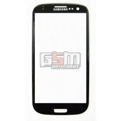 Стекло корпуса для Samsung I9300 Galaxy S3, I9305 Galaxy S3, черное
