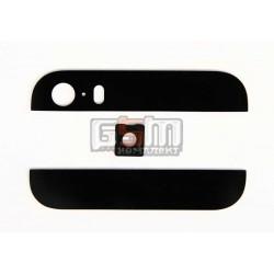 Верхняя + нижняя панель корпуса для Apple iPhone 5S, черная