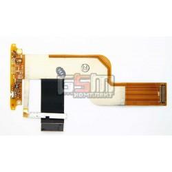 Шлейф для HTC T7272 Touch Pro, межплатный, боковых клавиш, с компонентами, (CDMA версия)