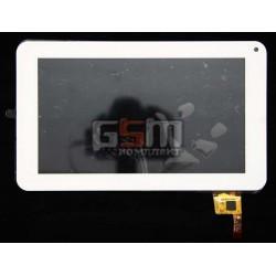 "Тачскрин для китайского планшета 7"", 12 pin, с маркировкой Topsun_C0020_A1, для Prestigio MultiPad PMP3570C, PMP3670B Dex iP700,"