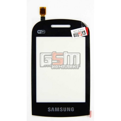Тачскрин для Samsung B3410, черный, Wi-Fi версия