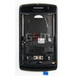 Корпус для Blackberry 9550, черный, high-copy