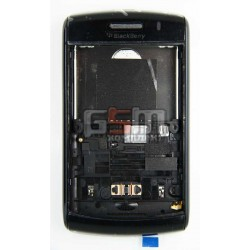 Корпус для Blackberry 9550, черный, high-copy
