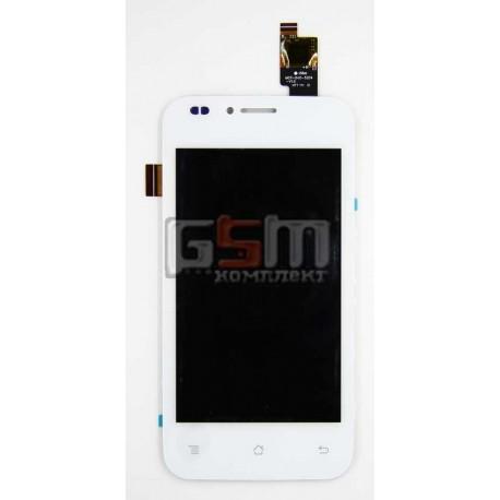 Дисплей для Fly IQ442Q Miracle 2, белый, original, с сенсорным экраном (дисплейный модуль), #TYC5939C1080133