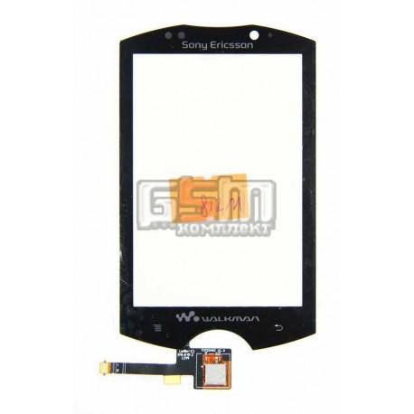 Тачскрин для Sony Ericsson WT18, черный