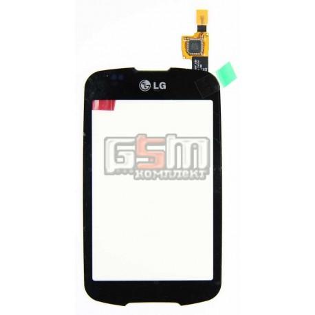Тачскрин для LG P500, черный