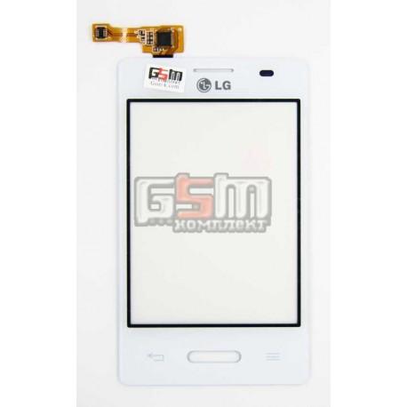 Тачскрин для LG E425 Optimus L3 II, белый