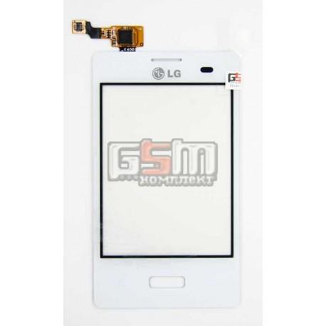 Тачскрин для LG E400 Optimus L3, белый
