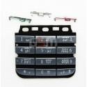 Клавіатура для Nokia 300 Asha, чорний, російська, верхня, нижня
