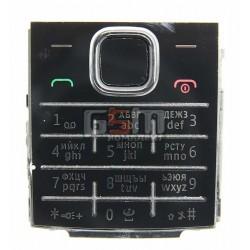 Клавиатура для Nokia X2-00, черная, русская