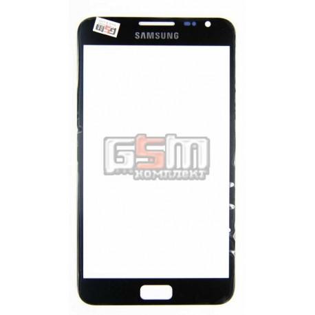Стекло корпуса для Samsung I9220 Galaxy Note, N7000 Note, черное