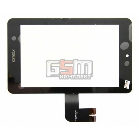 Тачскрин для планшета Asus MeMO Pad HD7 ME173X (K00B), черный, #076C3-0716A