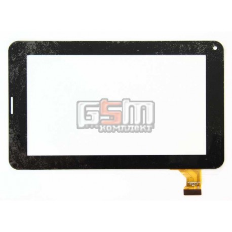 """Tачскрин (сенсорный экран, сенсор) для китайского планшета 7"""", 30 pin, с маркировкой CZY6329X01-FPC, размер 181*111 мм, черный"""