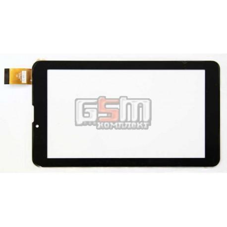 """Tачскрин (сенсорный экран, сенсор) для китайского планшета 7"""", 30 pin, с маркировкой FM707101KD, для Nomi C07005, размер 184*104"""