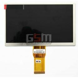 """Экран (дисплей, монитор, LCD) для китайского планшета 7"""", 50 pin, с маркировкой 20UU0911DJ1321Y, 7300101465, 7300101466, RS3-WVN"""
