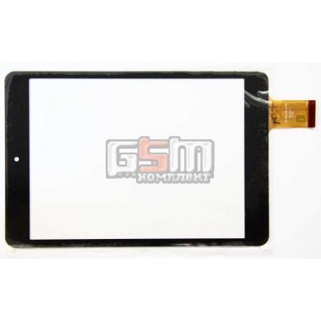 Тачскрін (сенсорний екран, сенсор) для китайського планшету 7.85, 40 pin, с маркировкой UDN706, WQ-FPC-0014-RHX, MF-500-079F-3 FPC, F0490 KDX, HH070FPC-039A-DST, DH-0815A1-PG-FPC176, для GoClever Quantum 785, Impression ImPAD 4313, Assistant AP-785, разме