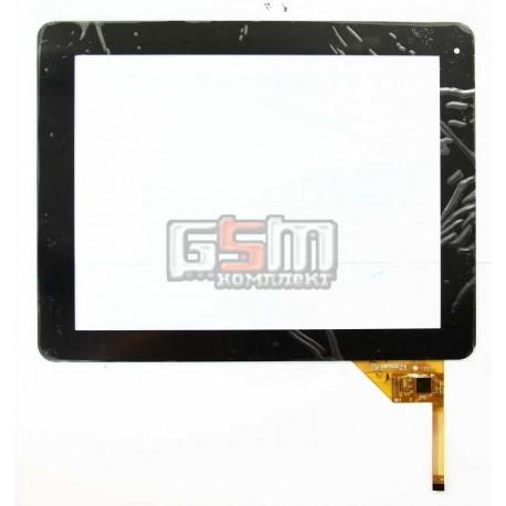 """Tачскрин (сенсорный экран, сенсор) для китайского планшета 9.7"""", 12 pin, с маркировкой YTG-P97002-F6, для Assistant AP-105, Zifr"""