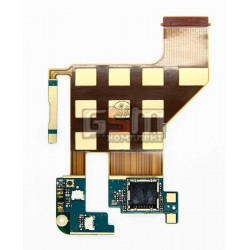 Шлейф для HTC T8585 Touch HD2, камеры, боковых клавиш, с компонентами