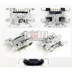 Коннектор зарядки Micro-USB тип 9