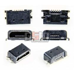 Коннектор зарядки Micro-USB для Nokia 800 Lumia, 5 pin, тип-B