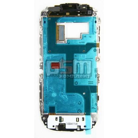 Шлейф для Nokia C7-00, межплатный, с компонентами, с клавиатурным модулем, со средней частью