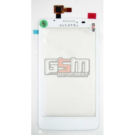 Тачскрін для Alcatel One Touch Scribe Easy OT 8000D OT- 800D TCL Y710 S, білий