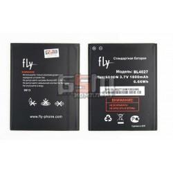 Аккумулятор BL4027 для Fly IQ4410 Quad Phoenix, original, (Li-ion 3.7V 1800mAh), #200200159
