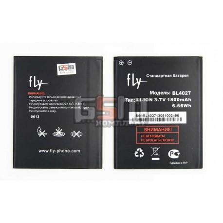 Акумулятор (акб) BL4027 для Fly IQ4410 Quad Phoenix, (Li-ion 3.7V 1800mAh), original, 200200159