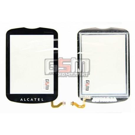 Тачскрин для Alcatel 543, 710, Vodafone 543, черный