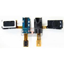 Коннектор handsfree для Samsung I9220 Galaxy Note, N7000 Note, со шлейфом, с динамиком
