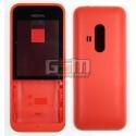 Корпус для Nokia 220 Dual SIM, червоний