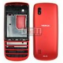Корпус для Nokia 300 Asha, красный, копия ААА