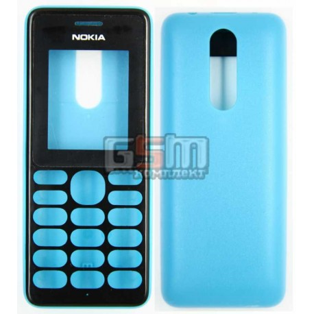 Корпус для Nokia 108, синій