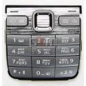 Клавиатура для Nokia E52, серая, русская