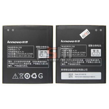Аккумулятор для Lenovo S920 , (BL208), Li-ion 3.8V 2250mAh