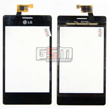 Тачскрин для LG E615 Optimus L5 Dual, черный