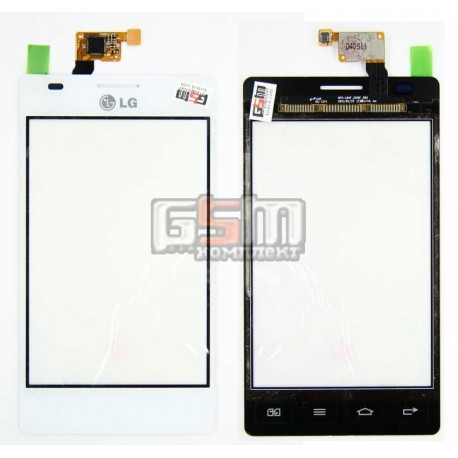 Тачскрин для LG E615 Optimus L5 Dual, белый