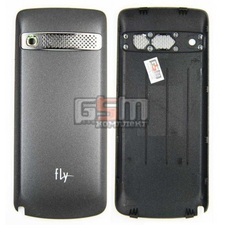Задняя крышка батареи для Fly TS105, серая, оригинал, (KPC00S56042A00100)