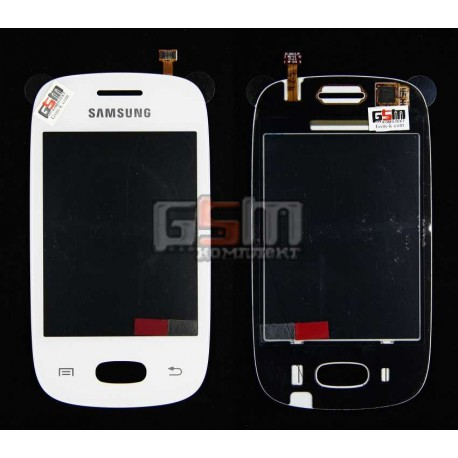 Тачскрин для Samsung S5312 Galaxy Pocket Neo, белый