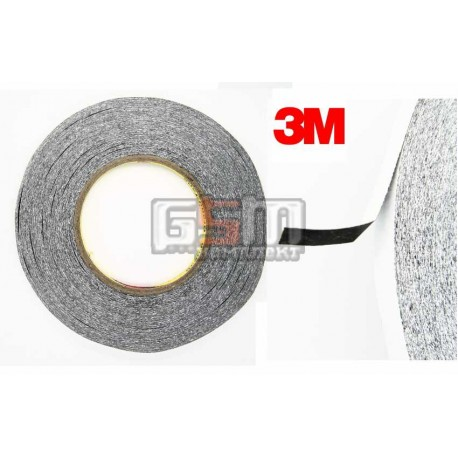 3M™ 9448HKB Двухсторонний скотч, черный 50м х 8мм, толщина 0,15 мм