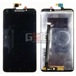 Дисплей для Lenovo S939, черный, с тачскрином