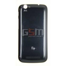 Крышка аккумуляторной батареи, для Fly IQ458 Quad EVO Tech 2, черная, оригинал # 5846010014