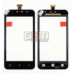 Тачскрин для Pioneer E60W; Prestigio MultiPhone 4322 Duo, черный, #TF0200C-YNE B088-A600 FPC