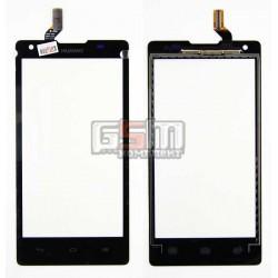 Тачскрин для Huawei Ascend G700-U10, черный, #HMCF-050-0860-V0.3