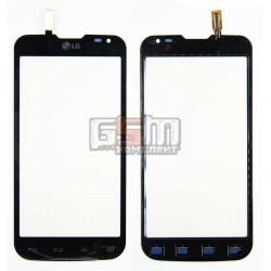 Тачскрин для LG D410 Optimus L90 Dual SIM, черный, (129*64мм)