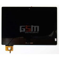 Дисплей для планшета Lenovo IdeaPad S6000, черный, с сенсорным экраном (дисплейный модуль), #BP101WX1-206/MCF-101-0887-V2